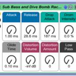 Rack gratuit pour créer un Sub et des Dive Bomb sur Ableton par When Jekyll hides