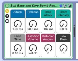 Un Rack gratuit pour créer un Sub et des Dive Bomb sur Ableton par When Jekyll hides