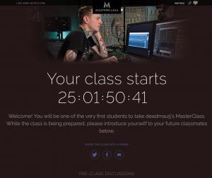 Deadmaus MasterClass